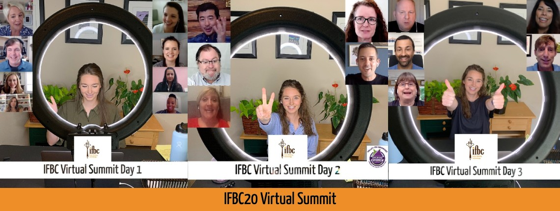 Website slider IFBC20 Virtual Summit Together