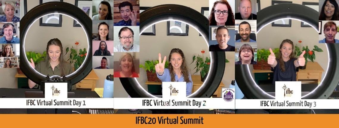 Website slider IFBC20 Virtual Summit Together