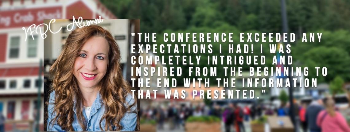 IFBC website slide – alumni quote